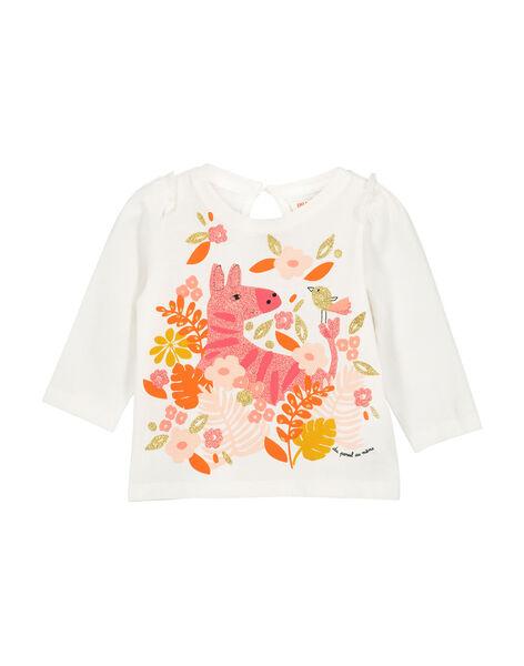 Tee-shirt manches longues bébé fille FIBATEE / 19SG0961TML001