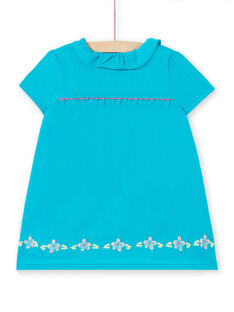 Robe Turquoise LIVERROB4 / 21SG09Q1ROBC216