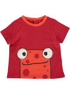 Tee-shirt manches courtes bébé garçon CUJOTI10 / 18SG10S4TMC502