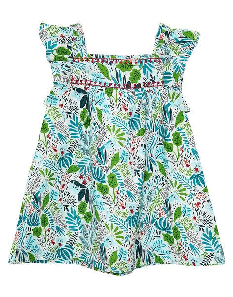 Robe imprimée bébé fille JICLOROB1 / 20SG0912ROB001