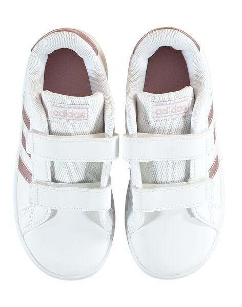 Basket blanche bébé fille Advantage Clean ADIDAS  GBFEF0116 / 19WK37P1D35000
