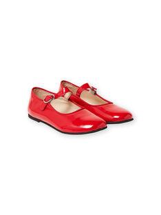 Chaussures salome Rouge LFBABRIDER / 21KK3533D13050