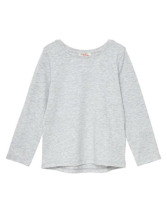 Tee Shirt Manches Longues Gris chiné JAESTEE3 / 20S90164D32943