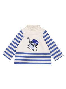 Sous pull rayé en jersey bébé garçon GUBLASOUP / 19WG10S1SPL001