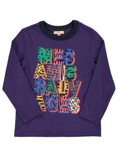 Tee-shirt manches longues garçon DOVIOTEE4 / 18W902H4TMLH701