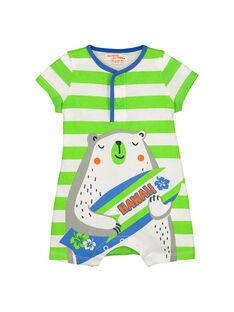 Combinaison bébé garçon FUPLACOM2 / 19SG10P2CBL099