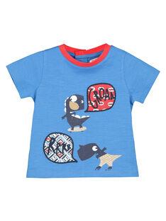 Tee-shirt imprimé bébé garçon FUTOTI1 / 19SG10L1TMCC215