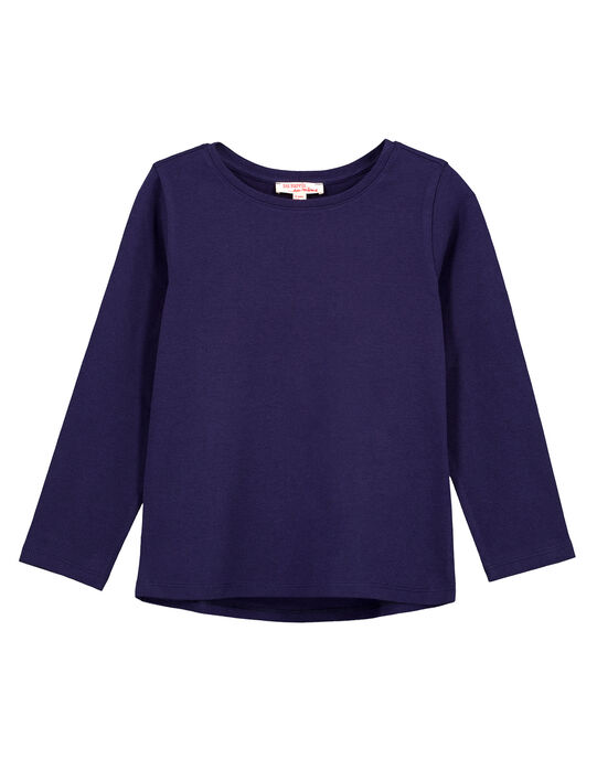 Tee Shirt Manches Longues Bleu marine GAESTEE2 / 19W901U2D32070