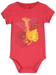 Body manches courtes bébé fille FEFIBODTHE / 19SH1351BDL308