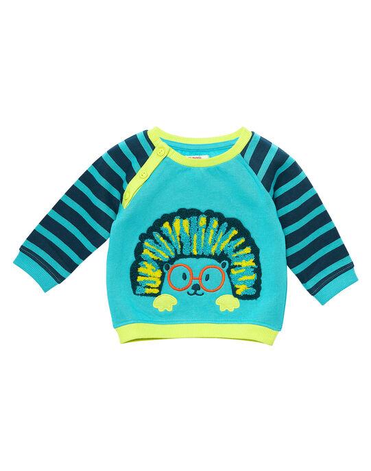 Sweat Shirt Turquoise JUCLOSWE / 20SG1011SWE202