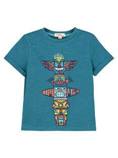 Tee-shirt manches courtes garçon FOCUTI2 / 19S902N3TMC715