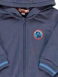 Sweat zippé à capuche bébé garçon CUJOJOH1 / 18SG10R2JGHC202