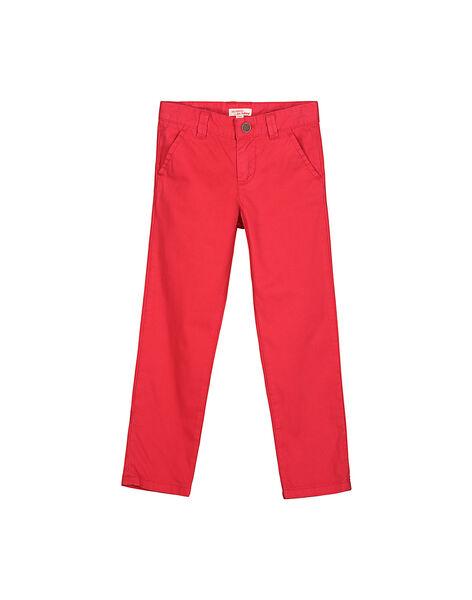 Pantalon chino garçon FOJOCHINO4 / 19S90234D2BF505