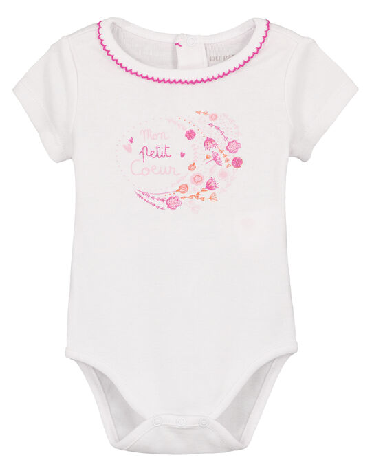 Body manches courtes GEFIBODMOT / 19WH1362BDL000